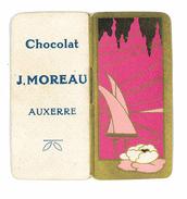 PETIT CALENDRIER 1932 PUB CHOCOLAT J. MOREAU AUXERRE - Kalenders