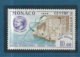 Monaco PA De 1962  N° 80  Neuf ** Sans  Trace De Charnière Gomme Superbe - Poste Aérienne