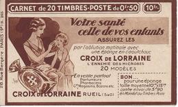 SERIE 265 COUVERTURE VIDE CROIX DE LORRAINE ET HAMAMELIS LES SCANS - Usage Courant