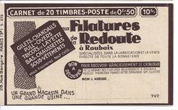 SERIE 273 COUVERTURE VIDE FILATURES REDOUTE LINGERIE RISBAM CHAMPAGNE MARAY VOIR LES SCANS - Usage Courant