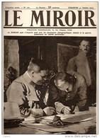 Journal LE MIROIR (1914/1918) N°101 DU  31/10/1915 L'INTERROGATOIRE D'UN DE NOS PRISONNIERS DU FRONT DE CHAMPAGNE - Newspapers