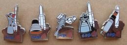 Lot De 5 Pin's SEP - Pin's