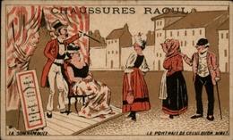 CHROMOS - Pub Pour Chaussures RAOUL à Toulouse - Somnambule - Vieux Papiers