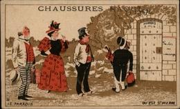 CHROMOS - Pub Pour Chaussures RAOUL à Toulouse - Saint Pierre - Paradis - Vieux Papiers