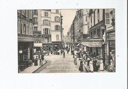 PARIS 891 RUE DE SEINE PRISE RUE DE BUCI (CAFE J SALSAC . CAFE BIARD ET ANIMATION) - Arrondissement: 06