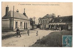 27 EURE - ILLIERS L EVEQUE Bureau De Poste Et Perspective De La Route De Dreux - Frankreich