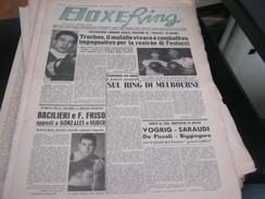 RIVISTA BOXE RING 29 NOVEMBRE 1956 - Sport