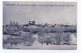 MONPAZIER  24 DORDOGNE PERIGORD  VUE SOUS LA NEIGE 1933 - Altri Comuni