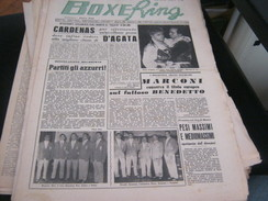 RIVISTA BOXE RING 1 NOVEMBRE 1956 - Sport
