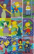 10908-LOTTICINO N°.9 FERRERO MERENDE SPECIAL CARDS SIMPSON - CARDS N.1-2-3-4-6-7-8-9-10 - Kinder & Diddl