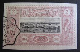 LOT R3586/802 - 1894 - COLONIES FR. - CÔTE DES SOMALIES - N°7 - SUPERBE CàD : DJIBOUTI 20 JUILLET 1894 - French Somali Coast (1894-1967)