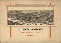 PUBLICITES - CHROMO GEANT - AU BON MARCHE - Dessins De Gray - Publicités