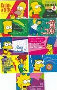 10909-LOTTICINO N°.9 FERRERO MERENDE CARDS SIMPSON - Otros