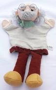 "Marionnette Vintage à Main ""moravska Ustredna"" Gepetto - Marionetten"