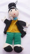 "Marionnette Vintage à Main ""moravska Ustredna"" Jiminy Cricket - Puppets"