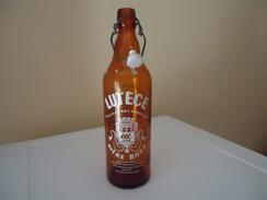 Bouteille Sérigraphiée - LUTECE - Fluctuat Nec Mergitur - BIERE BOCK - 1.0 L - Vide - - Beer