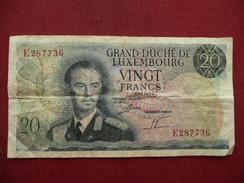 LUXEMBOURG Billet De 10 Francs 07/03/1966 Ayant Circulé - Luxembourg