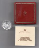 """Italia - 1989 - 500 Lire FDC """" Lotta Contro Il Cancro - Argento 835 - (MM82) - 500 Lire"""