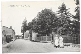 51 COURTISOLS - Rue Massez - Animée - Courtisols