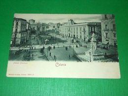 Cartolina Catania - Piazza Stesicoro 1910 Ca. - Catania