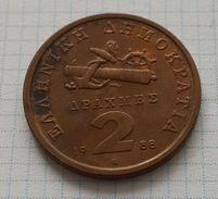 Greece 2 Drachmai 1988 - Grecia