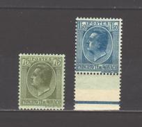 Monaco N° 90**, 99** Bdf, Superbes - Unused Stamps