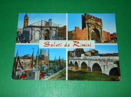 Cartolina Saluti Da Rimini - Vedute Diverse -- 1970 - Rimini