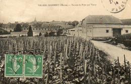 CPA - VILLERS-MARMERY (51) - Aspect De L'entrée Du Pays Par Verzy En 1914 - Autres Communes