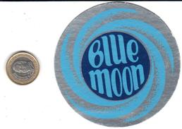ETIQUETA  - BLUE MOON (CERVEZA) - Publicidad