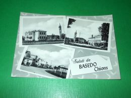 Cartolina Saluti Da Basedo Chions - Vedute Diverse 1960 Ca - Pordenone