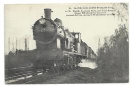 CPA - CHEMINS DE FER FRANCAIS, RAPIDE BORDEAUX PARIS..... - Edit. A. Fleury & Cie, Photographes Imprimeurs à Paris - Trains