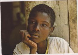 AFRIQUE,AFRICA,AFRIKA,TCHAD,KANEM,MOUSSORO,ECOLIER,CARTE PHOTO J GABIN - Tchad