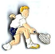 TENNIS - T2 - JOUEUR TENNIS - Verso : SM - Tennis