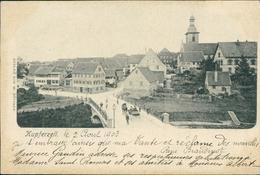 AK Kupferzell, Gesamtansicht, O Um 1903 (18527) - Duitsland