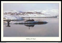 """RUSSIA POSTCARD 999 Mint SUBMARINE NUCLEAR 971 """"VOLK"""" WOLF ATOMIQUE NORTH NAVY NAVAL SOUS MARIN U BOOT ARCTIC POLAR NORD - Unterseeboote"""