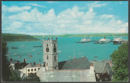 The Parish Church And Harbour, Falmouth, Cornwall, 1970 - Postcard - Falmouth