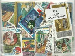 Lot De 200  Timbres D'URSS Grands Formats - Russie & URSS