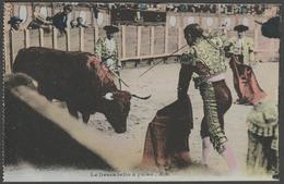 Le Descabello à Pulso, Corrida, C.1920 - CPA - Corrida