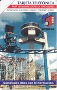 UR-045 TARJETA DE CUBA URMET DE EXPOCUBA $5 - Cuba