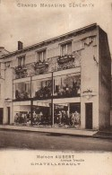 86 CHATELLERAULT Grands Magasins Généraux  Maison Aubert  Avenue  Treuille - Chatellerault