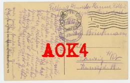 GENT Feldpost Etappen Kommandantur 237 Flandern 1918 Brasschaat Krankenschwester Kriegslazarett - Weltkrieg 1914-18