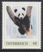 ÖSTERREICH 2017 ** Panda Bären Aus Schönbrunn / FU BAN - PM Personalized Stamp MNH - Bears