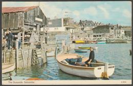 The Quayside, Salcombe, Devon, 1981 - ETW Dennis Postcard - England