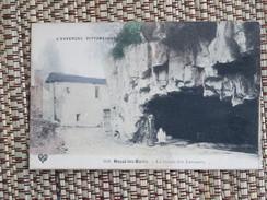 C.P.A. 63 ROYAT LES BAINS : La Grotte Des Laveuses, Animé - Royat