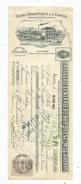 MANDAT, 1909 , Usines Hydraulique & à Vapeur , AGEN , Timbrée , 2 Scans , Frais Fr : 1.55 Euros - France