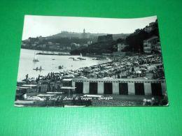 Cartolina Arma Di Taggia - Spiaggia 1959 - Imperia