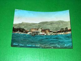 Cartolina Scauri ( Latina ) - Veduta Dal Mare 1960 Ca - Latina