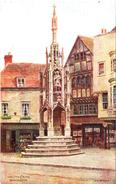 A R QUINTON - SALMON 1540 - THE CITY CROSS WINCHESTER - NO PEOPLE - Quinton, AR