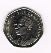 ) GAMBIA  1 DALASI  1987 - Gambie