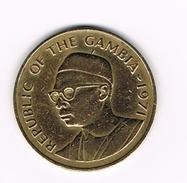 ) GAMBIA  10  BUTUS  1971 - Gambie